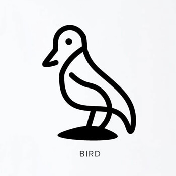 Example Image of Animals in Modern Branding