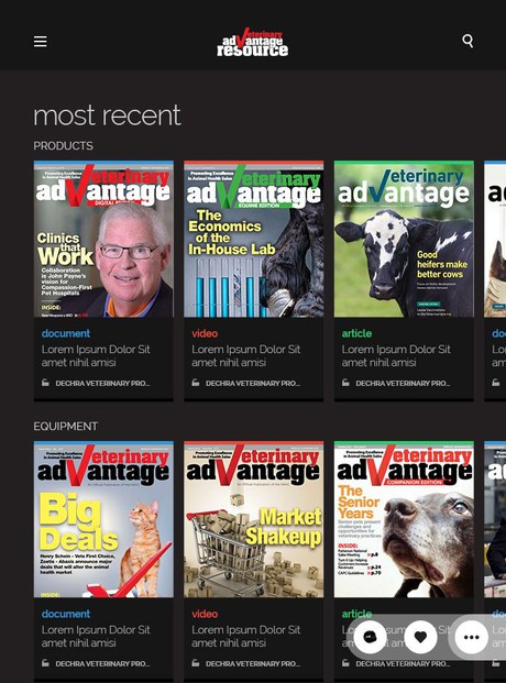 VetAdvantage Magazine Resource App